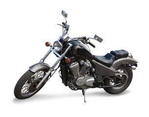 Black  motor cycle