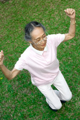 healthy senior exercise