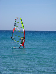 Surfer am Meer