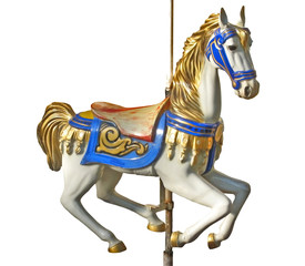 Carousel's horse