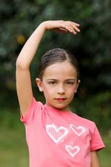 petite danseuce gracieuse