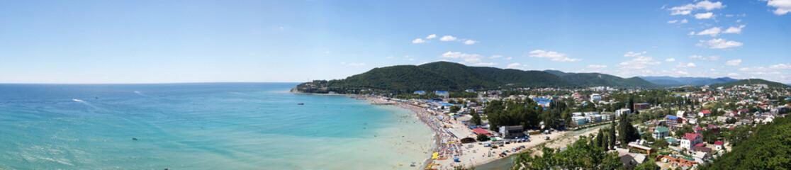 recreation village near sea