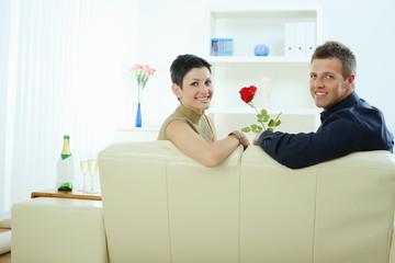 Love couple - rose