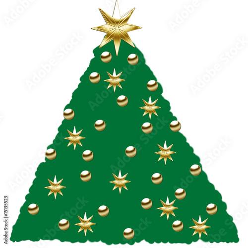 geschm ckter weihnachtsbaum stockfotos und lizenzfreie bilder auf bild 15135523. Black Bedroom Furniture Sets. Home Design Ideas