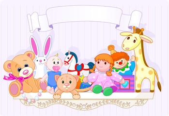 The toy shelf