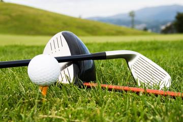 Utensílios de golfe