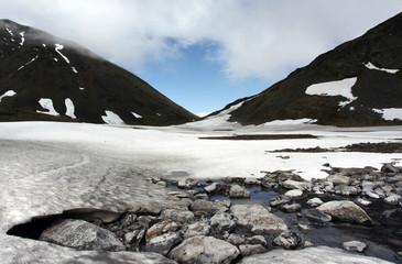 Glacial stream - Alaska
