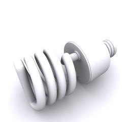 eco ampoule blanche