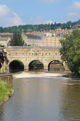 View from Bath, England
