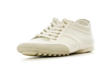 Short shoe isolated on the white background