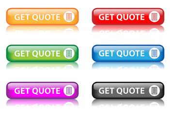 """Rectangular """"Get Quote"""" buttons (x6)"""