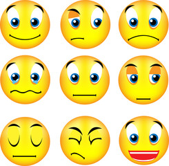vector smiley emoticons