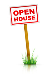 Artwork For Real Estate  - Sign Open House