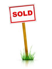 Artwork For Real Estate  - Sign Sold