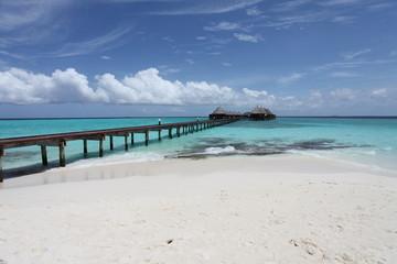 Steg zur Ruhe - Malediven - Runway to relaxation - Maldives