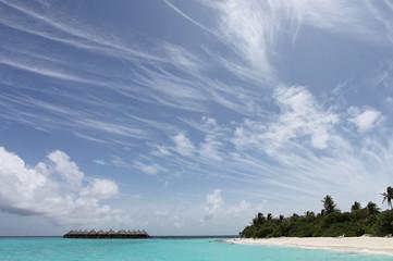 Paradieswolken - Malediven - Paradise clouds - Maldives