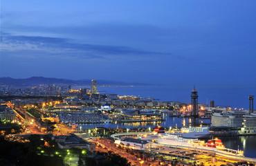 Foto op Canvas Barcelona barcelona harbour 2