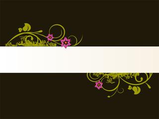 floraler banner