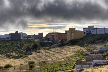 Low Cloud 02 - Chupide -La Gomera -HDR