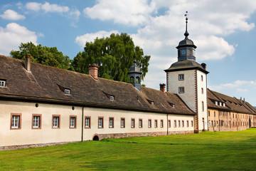 Schloss Corvey bei Hameln und Höxter