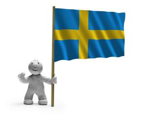 Schweden Flagge