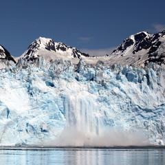 Crumbling Glacier, Alaska