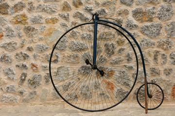 Photo sur Aluminium Velo Altes Fahrrad