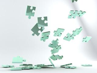 Puzzle caduta