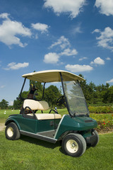 Ecological golf car