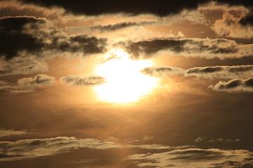 coucher dans les nuages