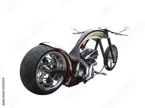 chopper motorrad freigestellt stockfotos und. Black Bedroom Furniture Sets. Home Design Ideas