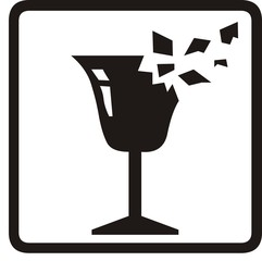 Wine glass sign