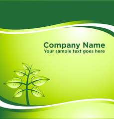 vector GREEN abstract background with place for your text [03]