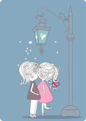 secret of street lantern