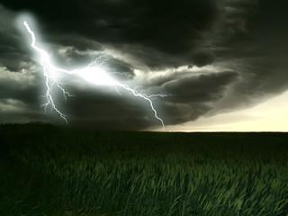 orage et éclair