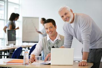 Adultes en formation commerciale