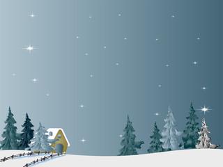 Photo sur Plexiglas soft winter