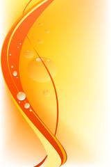 Astratto arancio