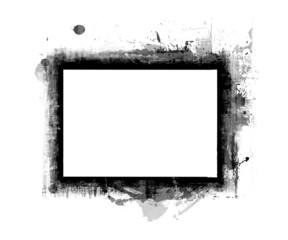 Computer designed grunge border