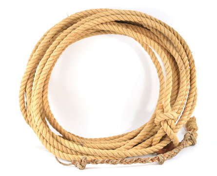 Cowboy Rope Coiled