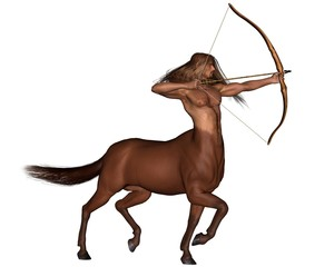 Zodiac sign - Sagittarius the archer
