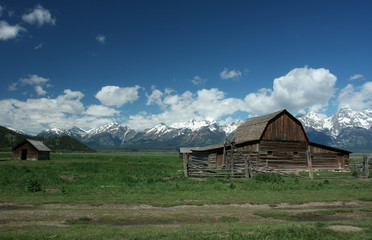 Mormon Row Historic District Grand Teton