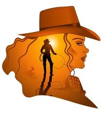 cowgirl western woman