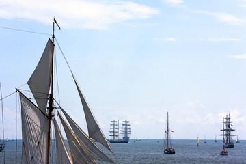 Sails and ships
