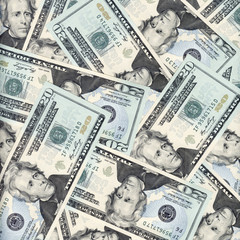 Twenty dollars background