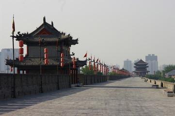 Photo sur Plexiglas Xian 西安城壁