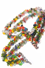Varicoloured necklace