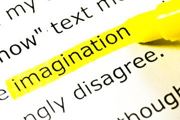 imagination word