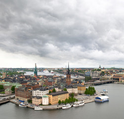view of Stockholm cityscape