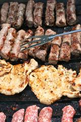 Pork Chops And Cevapcici